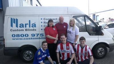 Charity work at Marla Conservatory Blinds