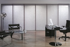 Panel blinds commercial