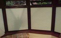 Perfect Fit pleated blinds commercial