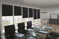 Roller blinds commercial