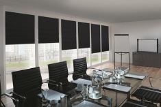 Roller blinds commercial