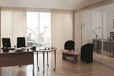 Vertical blinds commercial