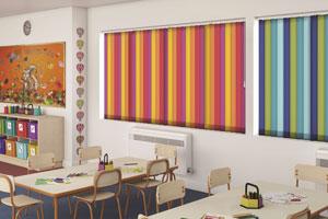 marla commercial blinds - school