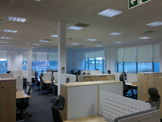 Commercial Office Anti Glare Blinds Marla Commercial Blinds