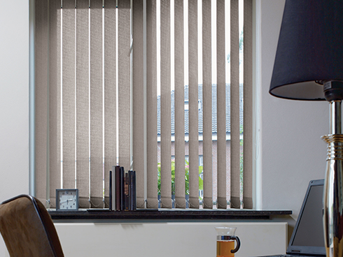 Vertical office blinds