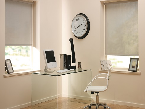 Home Office Roller Blinds