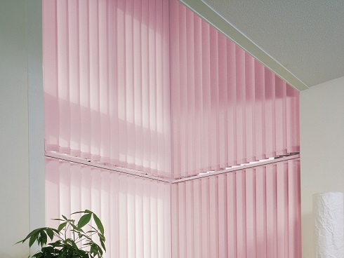 Office Sloping Vertical Blinds