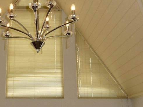 Shaped Venetian Blinds