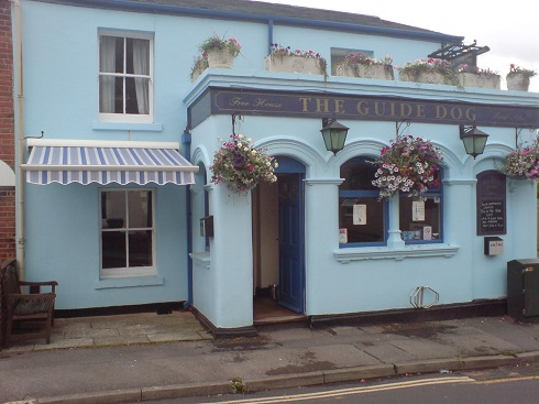 pub folding arm awning