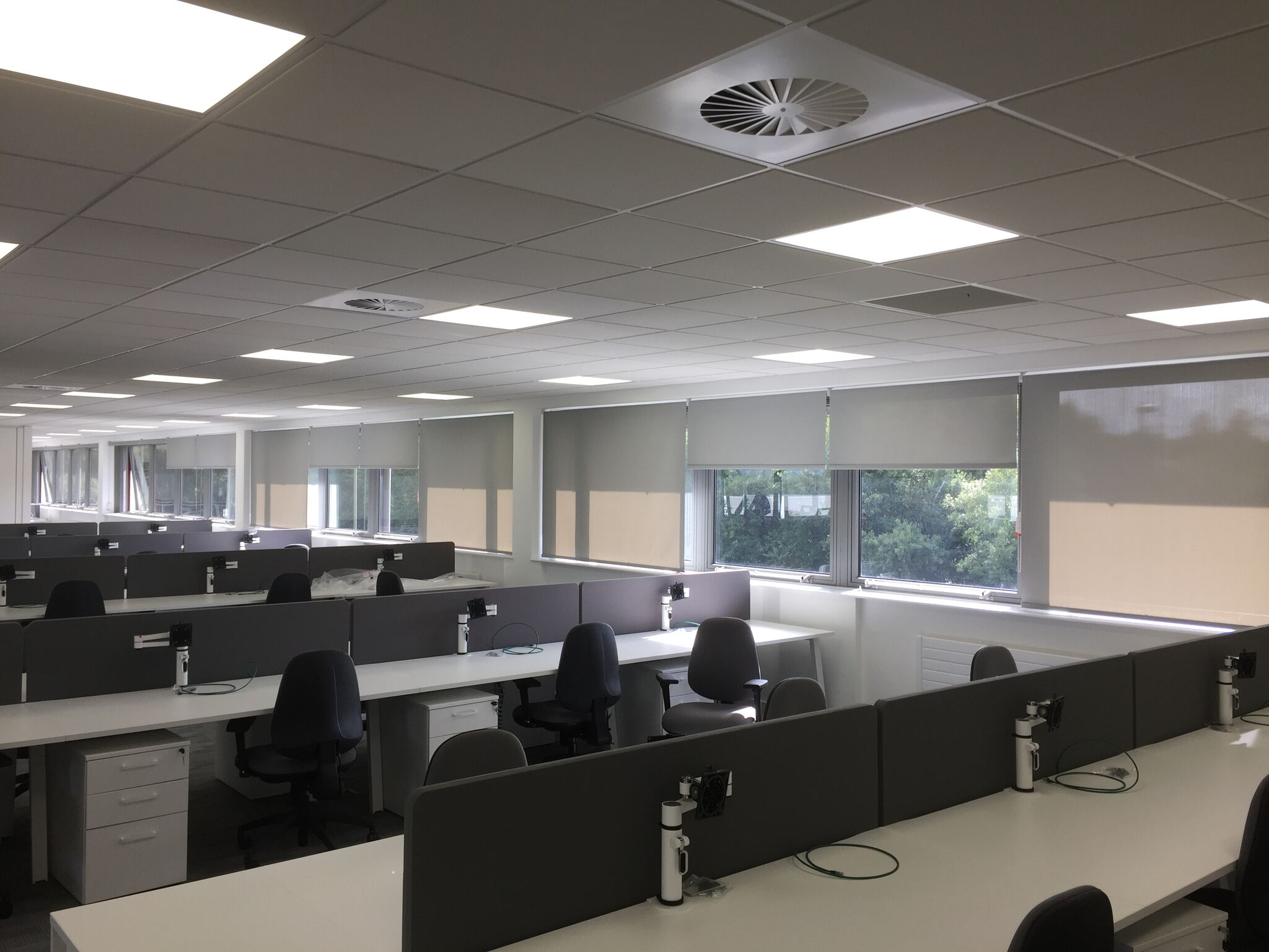 Open Plan Office Blinds