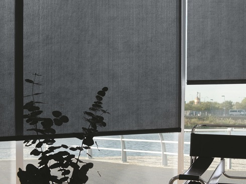 Side Chain Commercial Roller Blinds