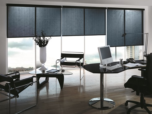 Standard Finish Office Roller Blinds
