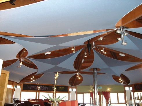 Restaurant Sail Blinds