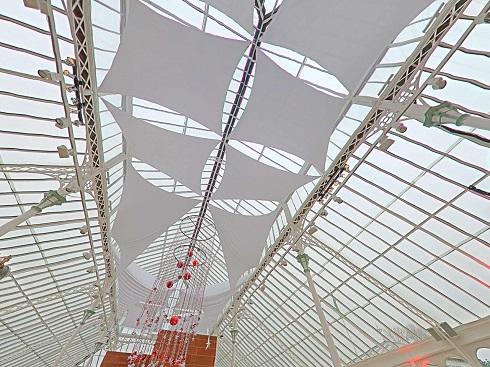 Atrium sails