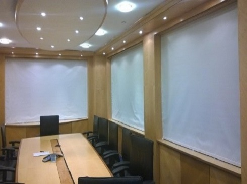Boardroom cassette blackout blinds