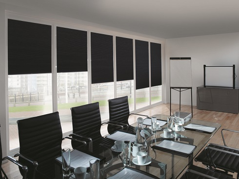 meeting room blackout blinds