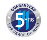 marla blinds 5 year guarantee