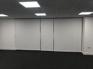 demonstration room roller blinds