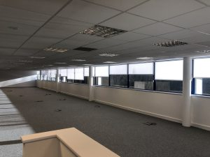 main office roller blinds